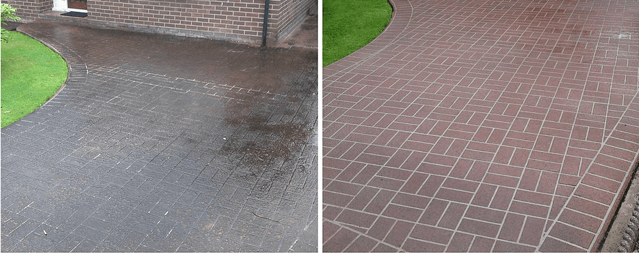 driveway cleaning and sealing