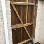 Gate Installed for Client in Peterborough