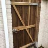 Gate installed in Werrington