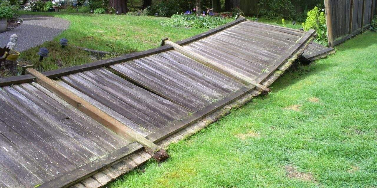 Fence Blown Down Advice Guide