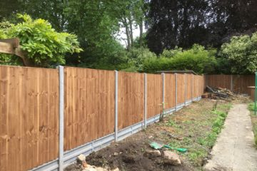 Closeboard Featheredge Fencing
