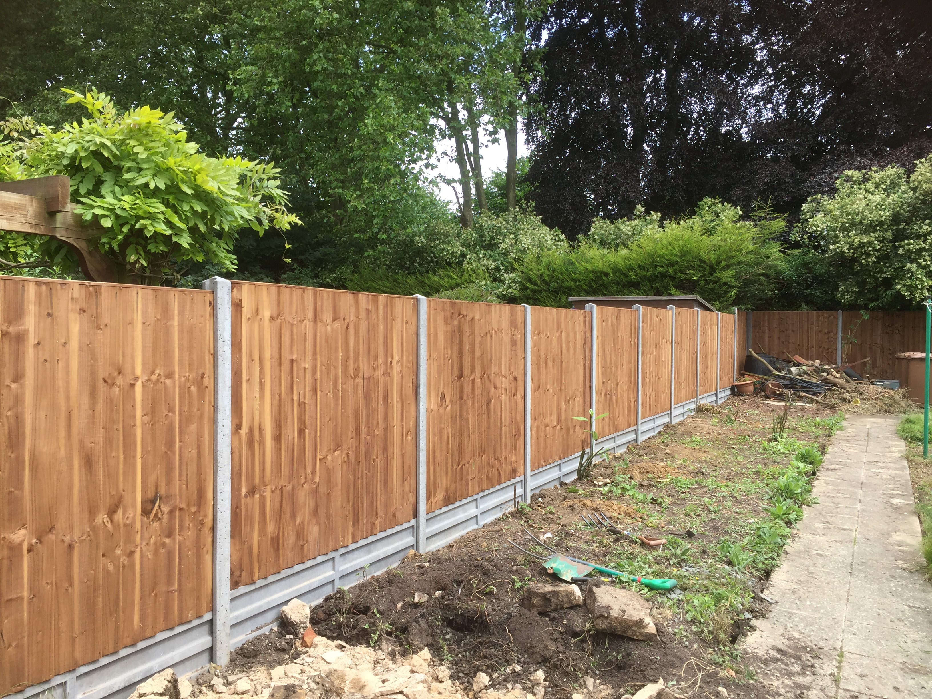 Finished Fencing Install