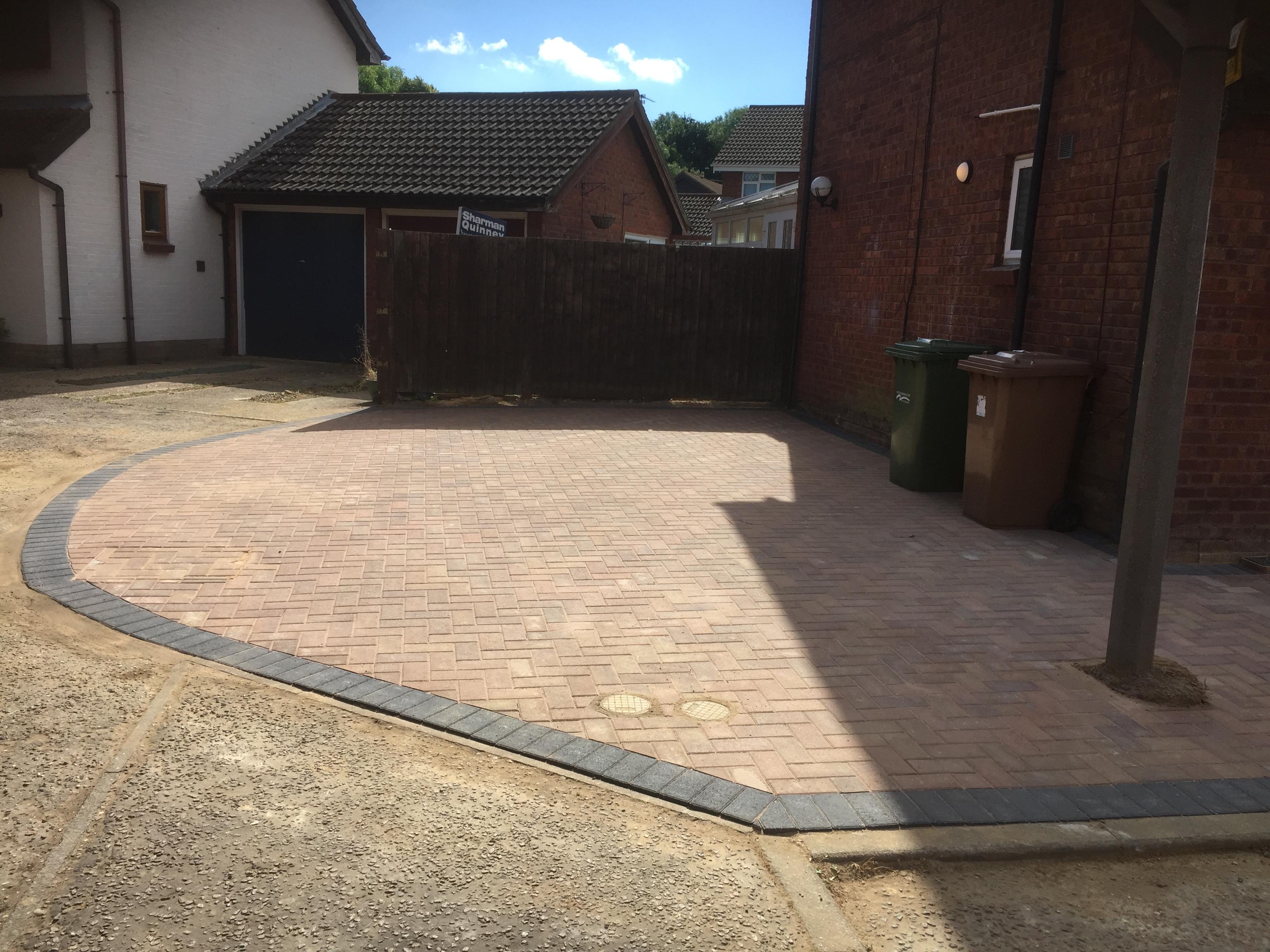 Block paving job in peterborough