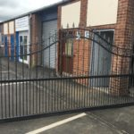 Metal Courtyard Gates Peterborough