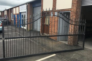 Wrought Iron Metal Fencing, Railings and Gates