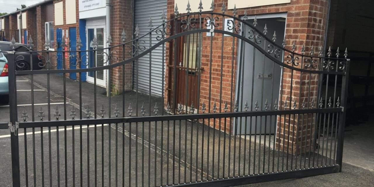 Metal Courtyard Gates Peterborough