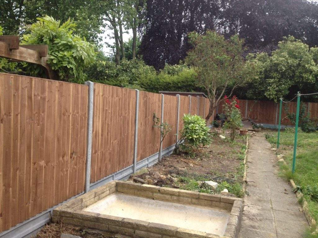Fence installed in Dogsth