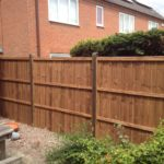 Fence installed in Oakham