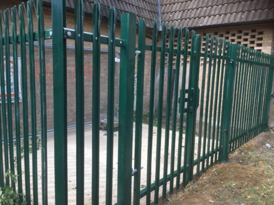 Metal Security Fencing Peterborough