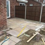 Patio Being Installed in Stanground Peterborough