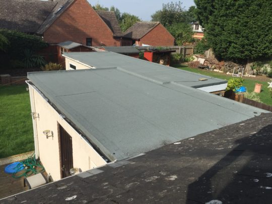 Flat roof install in werringto
