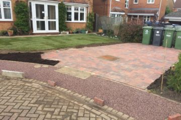 After Block Paving and Resin Install
