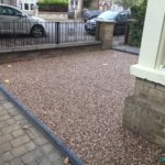 Tagular Block Paving Footpath