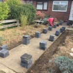 Block Paving Pathway Edging
