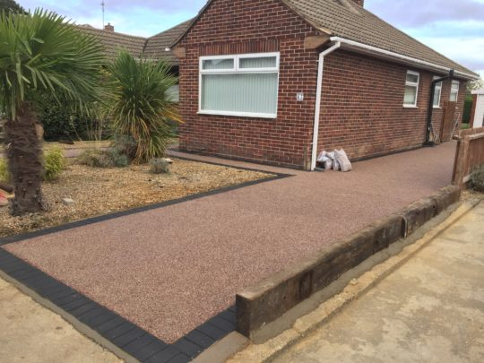 Completed Resin Driveway in Werrington