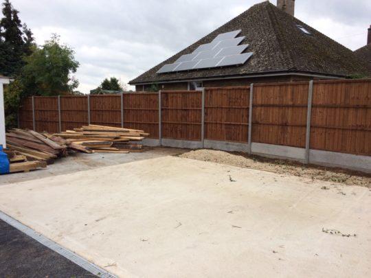 Fencing Installation in Uppingham