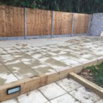 Large Patio Install