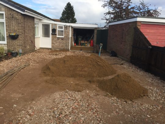 Preparing Ground for Block Paving in Peterborough