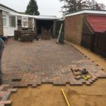 Block Paving Being Installed In Whittlesey