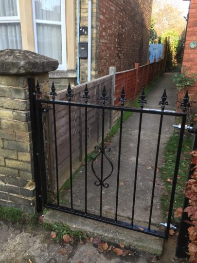 Wrought Metal garden gate