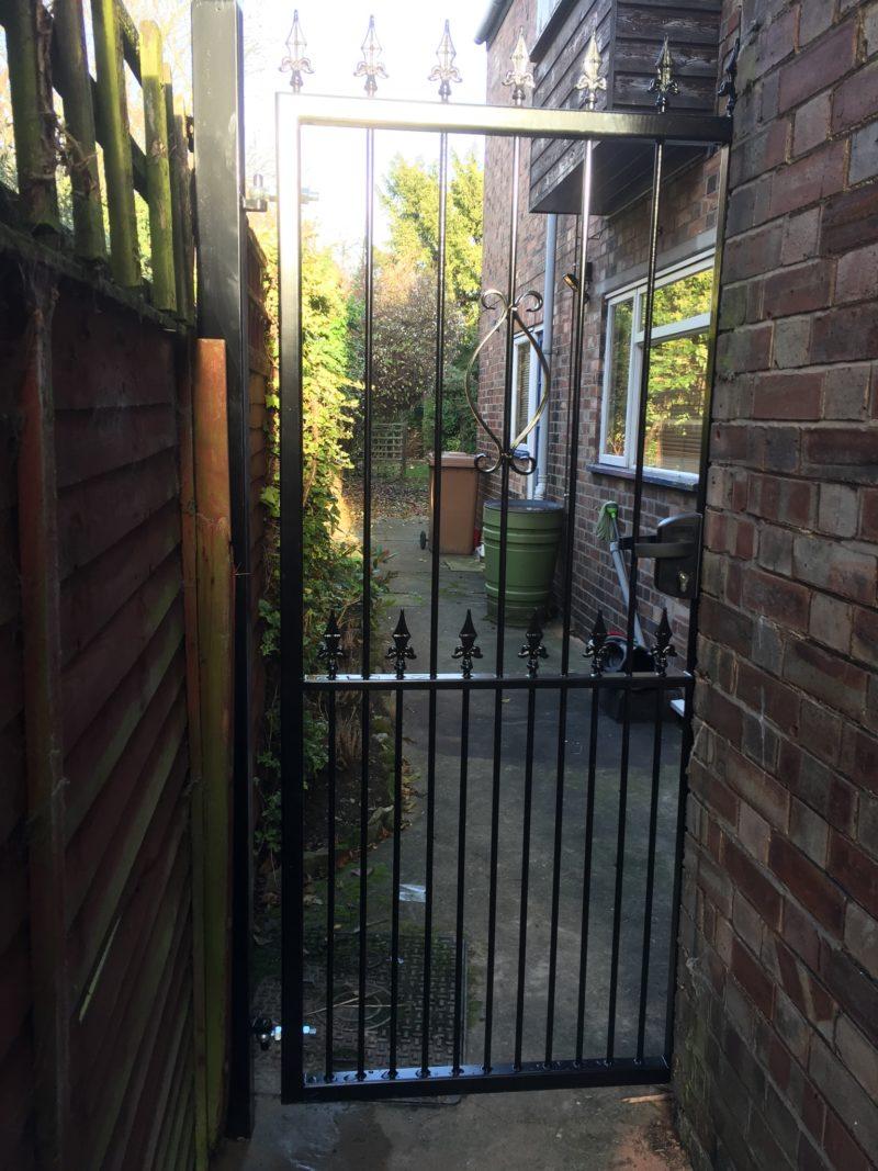 Replace Garden Gates With Iron Gates Peterborough