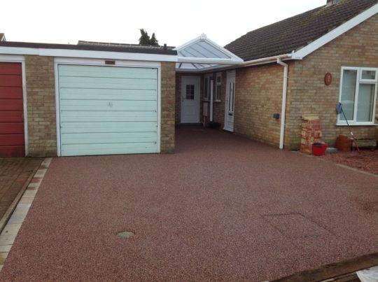 Resin Driveway Install in Sandringham