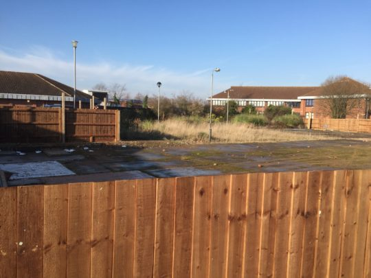 Commercial Fencing for Tesco in Peterborough