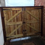 New Driveway Gates installed in Peterborough