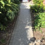 Resin Path finished in Daltex Silver