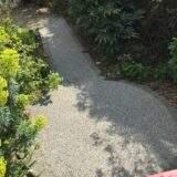 Resin Bound Garden Feature Path