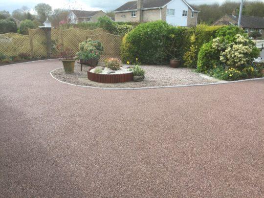 Daltex Staffordshire Pink Resin Bound Driveway