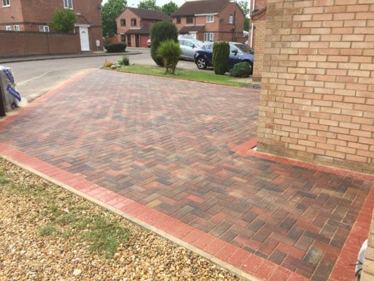 Extended Block Paving Area