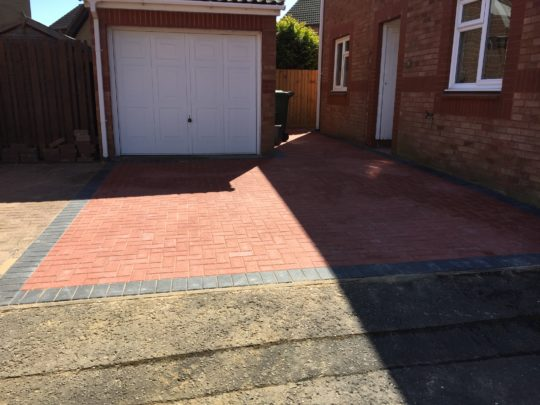 Block Paving Werrington