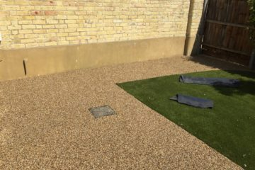 After Resin Install in Thorney Rear Garden