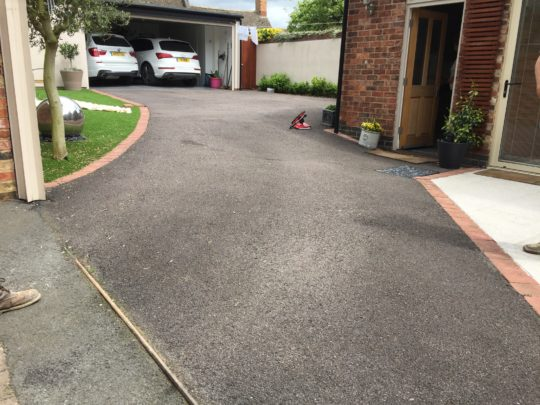 Before the Resin Install - Tarmac