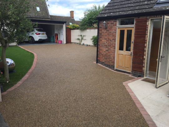 Resin Bound Driveway in Uppingham