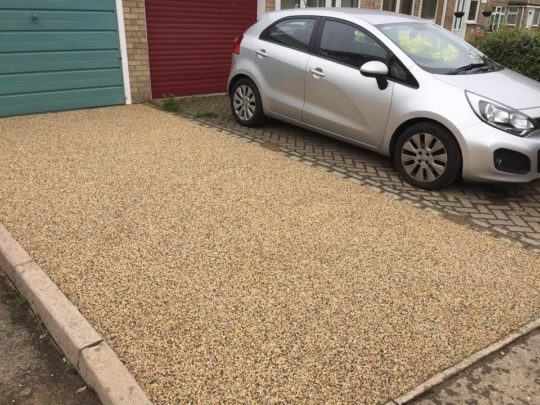Resin Bound Driveway Overlay in Peterborough