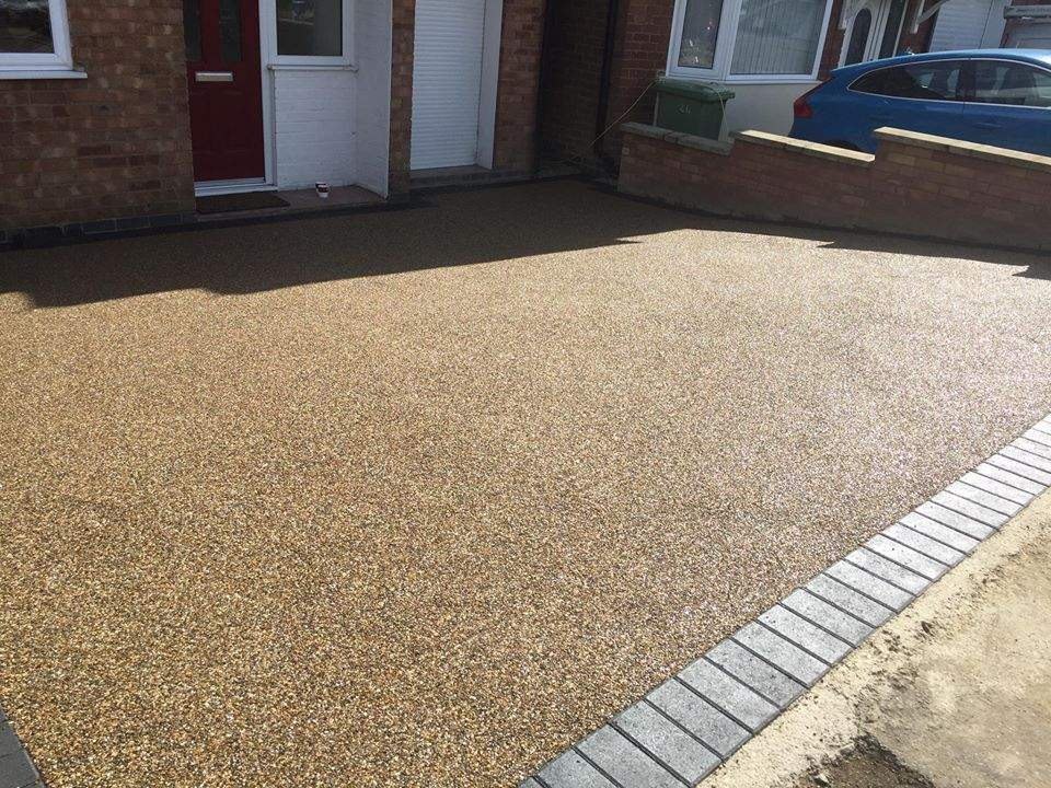 We've just had our old sloped gravel driveway replaced by
