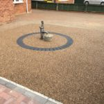 Resin Bound Garden Feature in Stanground