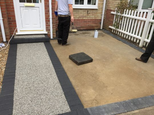 New Concrete base installed in Chatteris