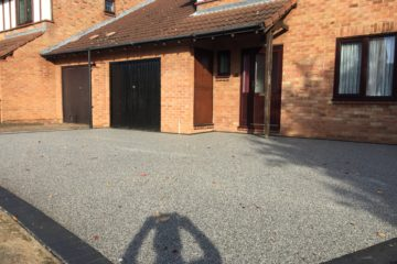 Resin Bound Driveway in Woodhall Rise Peterborough