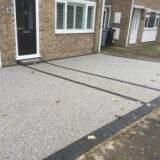 Market Deeping Resin Bound Driveway Install