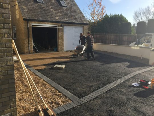 Tarmac Base for Resin Install