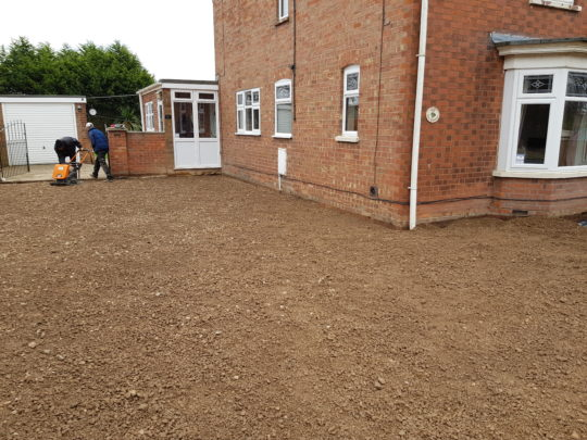 Large Block Paving Project