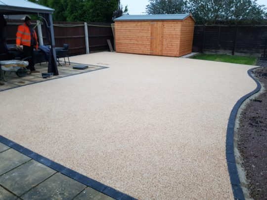Resin Bound Patio Whittlesey