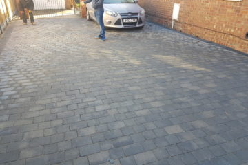 Tegula Block Paving Installed in Spalding