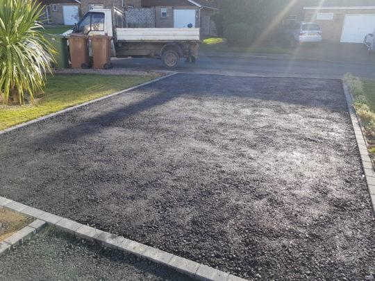 Bitumen Base for Resin Driveway