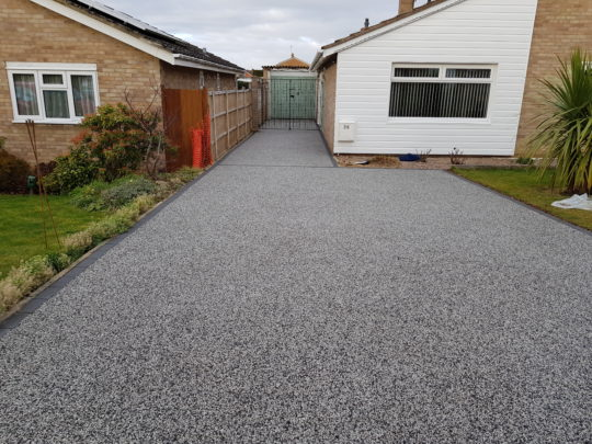 Finished Resin Drive in Peterborough