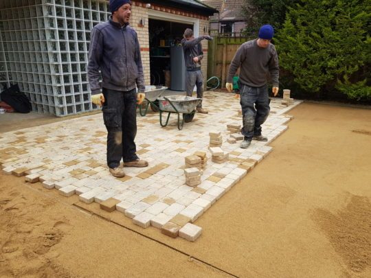 Laying Block Paving in Peterborough
