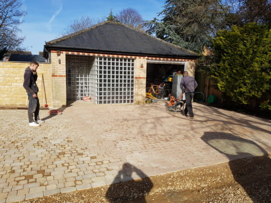Block Paving Installation in Peterborough